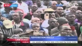 CORD Leader Raila Odinga's Full Speech During Uhuru Park Rally In Solidarity With Teachers