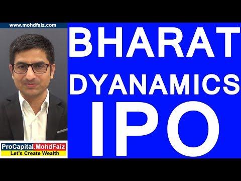 BHARAT DYANAMICS IPO
