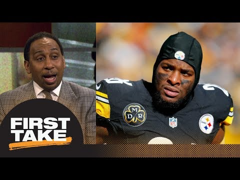 Stephen A. Smith's advice to Le'Veon Bell on contract talks: Don't be emotional | First Take | ESPN