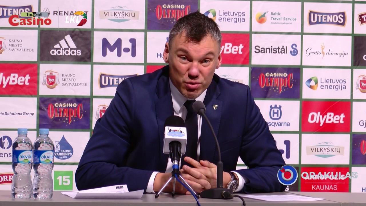 """Š. Jasikevičius: """"Klaidos tampa mūsų problema"""""""