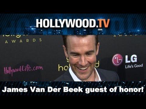 James Van Der Beek Wardrobe Malfunction & Acting Advice - Hollywood.TV