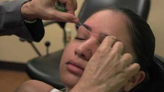 EYEBROW THREADING NBC 10 SPECIAL