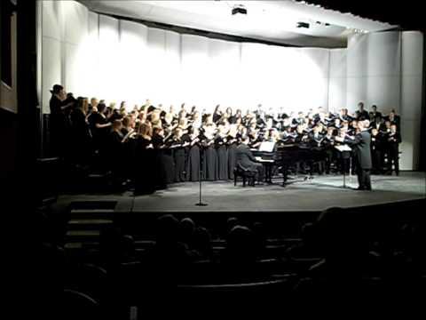 Northwest Missouri State University Chorale: The Prayer of Saint Francis