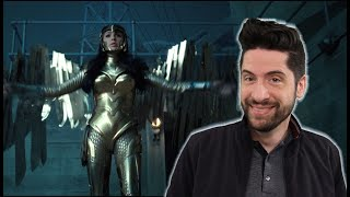 Wonder Woman 1984 - Teaser Trailer (My Thoughts) by Jeremy Jahns