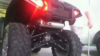 10. Piolaris Sportsman 850 xp EPS with Big Gun Eco Exhaust