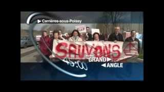 Carrieres-sous-Poissy France  city images : Manifestation contre le port industriel de Carrières-sous-Poissy / Triel-sur-Seine