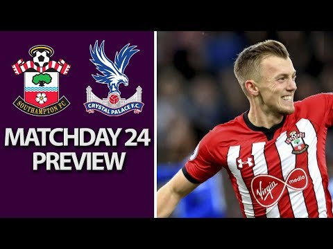 Video: Southampton v. Crystal Palace   PREMIER LEAGUE MATCH PREVIEW   1/30/19   NBC Sports