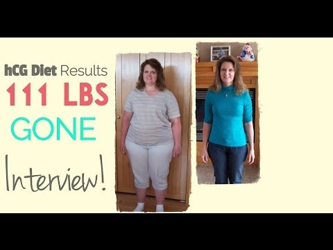 hCG Diet Reviews: 111lbs Lost After No Other Diet Worked - Episode 10