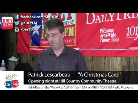 'A Christmas Carol' opening night at Hill Country Community Theatre