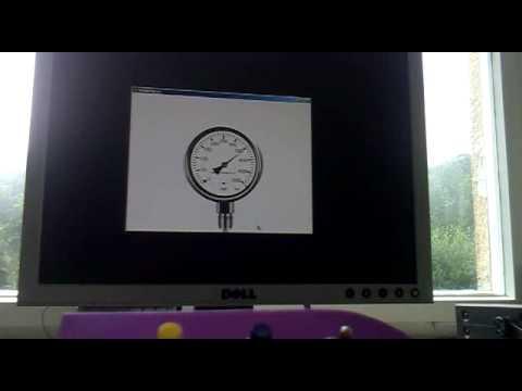analog Manometer mit Processing für Arduino