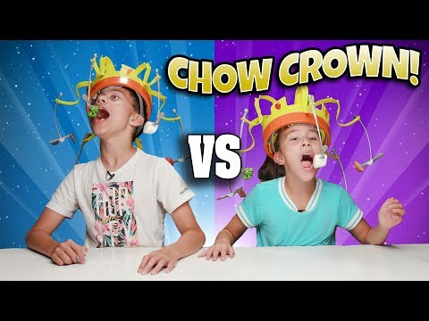 CHOW CROWN CHALLENGE!!! Who Is King Of The Snacks?
