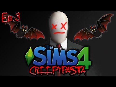 RIP Slender Man?!?! | The Sims 4: Creepypasta Reboot - Ep. 3 (видео)