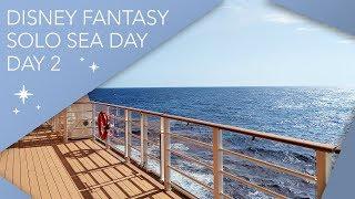 Day 2 | Solo Day at Sea | Disney Cruise Line Vlog | January 2019 | Adam Hattan