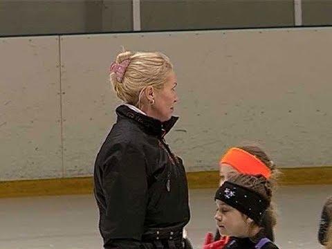 Ирина Лобачева провела мастер класс для юных курских фигуристов