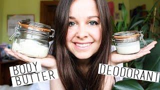 Zero Waste Body Butter & Deodorant + UPDATES!