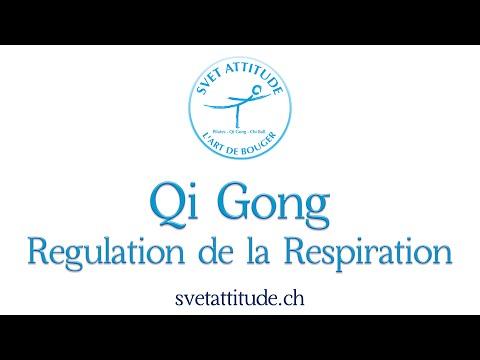 Qi Gong   Régulation de la Respiration  Цигун  Регуляция дыхания