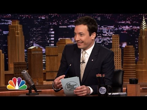 Jimmy Fallon's Top 10 List: Why Letterman's Retiring!