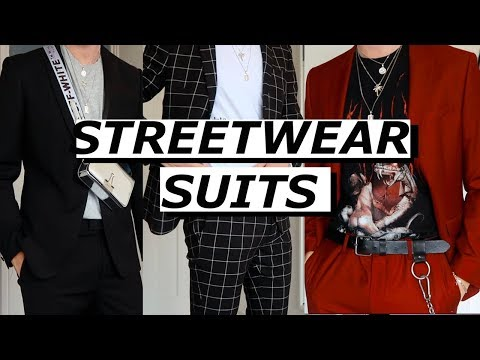 Streetwear Suits | Topman | Gallucks
