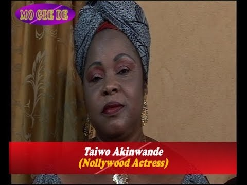 Taiwo Akinwande - a.k.a. Yetunde Wunmi (Nollywood Actress)