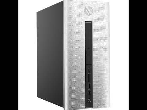 HP Pavilion 550-a114 Unboxing! AMD A8 8GB RAM 1TB Hardrive