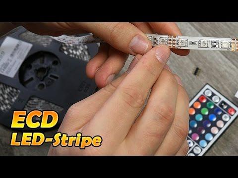 ECD LED-Stripe/Streifen 5050SMD  [Deutsch] 4K
