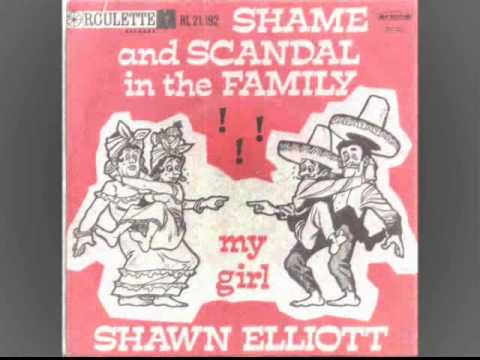 Shawn Elliott - Shame And Scandal In The Family - Roulette  RECORDS