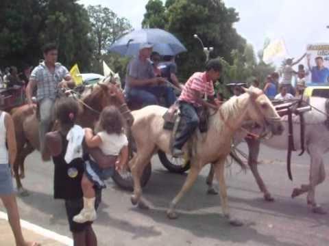 Cavalgada em São Miguel do Tocantins - 2010
