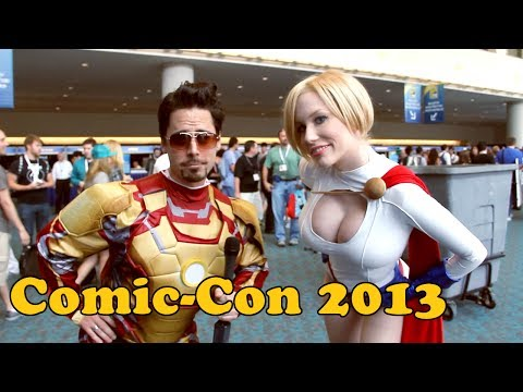 comic con - COMIC-CON, BITCHES! Interviews with dah best cosplayers. Awkward fun is had by all. Featuring: MythBuster Grant Imahara (OMG!) Crystal - https://www.facebook...