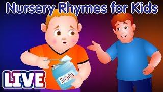 Video ChuChu TV 3D Nursery Rhymes & Kids Songs - Johny Johny Yes Papa MP3, 3GP, MP4, WEBM, AVI, FLV April 2019