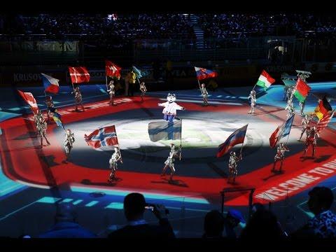 Открытие чемпионата мира по хоккею - 2016 (видео)