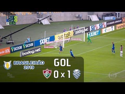 Fluminense 0x1 CSA - 2019