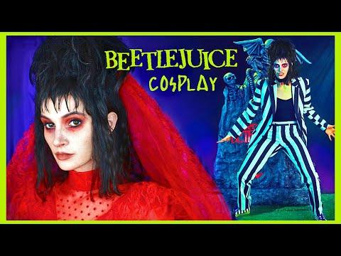 Lydia Deetz (BEETLEJUICE) Makeup / Costume - Cosplay Tutorial