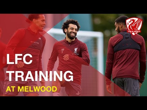 Liverpool FC Training | Warm Up At Melwood - 2018/19