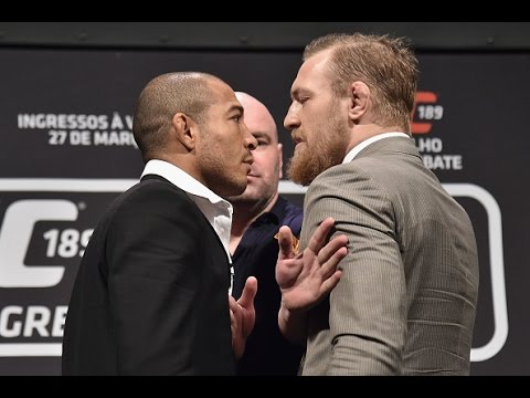 UFC 189: World Tour Press Conference – Rio Highlights