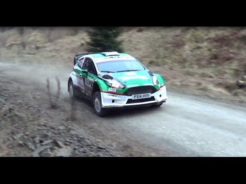 David Bogie - Border Counties 2015 [HD] PURE SOUND (Fiesta R5+)