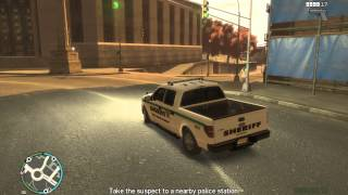 GTA 4 my new police ford F150