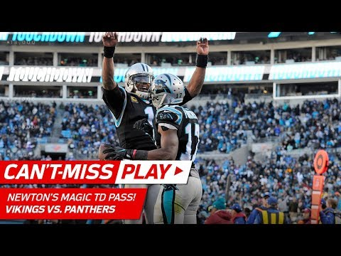 Video: Cam Newton's Magic Trick to Avoid Sack & TD Pass to Devin Funchess! | Can't-Miss Play | NFL Wk 14