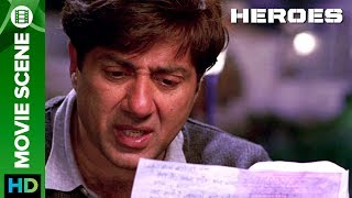 Click to watch full movie online :- http://erosnow.com/movie/watch/1000238/heroesWatch this emotionally touchy scene Sunny Deol gets emotional while reading his younger brother Bobby Deol's last letter. Bobby Deol as a captain of Indian Army who died in last war.Film – HeroesMusic – Sajid-Wajid & Monty SharmaActor – Salman Khan, Sohail Khan, Mithun Chakraborty, Sunny Deol, Bobby Deol, Preity ZintaProduced by – Vikas Kapoor, Bharat ShahDirected by - Samir KarnikTo watch more log on to http://www.erosnow.com/For all the updates on our movies and more:https://twitter.com/#!/ErosNowhttps://www.facebook.com/ErosNowhttps://plus.google.com/+erosentertai...http://www.dailymotion.com/ErosNow