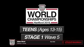 6. Teens Stage 1 Wave 5 - 2019 NNL World Championship