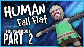 Human Fall Flat Complete Playthrough #2 - Hat Films Livestream