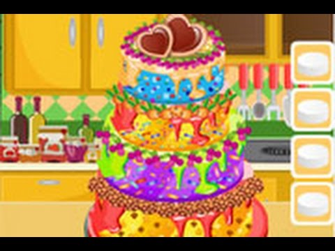 Cartoon Game: Cooking Academy Wedding Cake