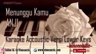Video Anji - Menunggu Kamu Versi Higher Keys ( Lower Male ) MP3, 3GP, MP4, WEBM, AVI, FLV April 2018