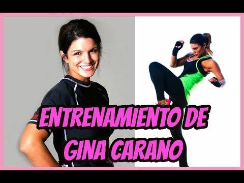 Entrenamiento de Gina Carano 🔥