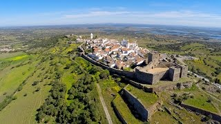 Monsaraz Portugal  City pictures : Monsaraz aerial view 1440P