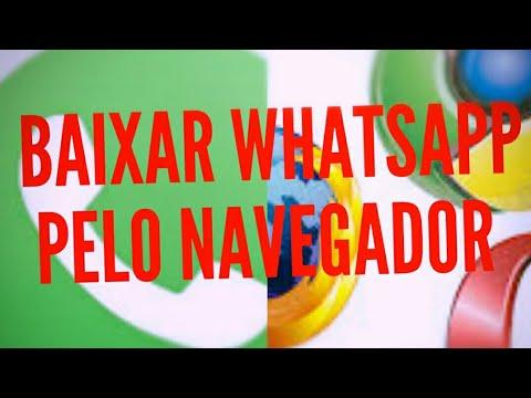 Como baixar whatsapp direto pelo navegador