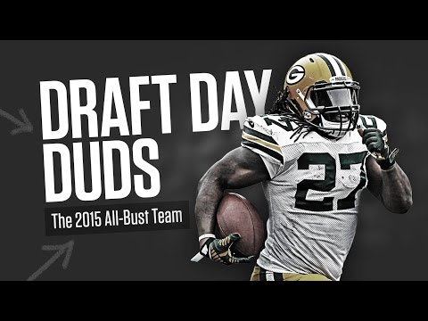 2015 Fantasy Football Draft Day Duds / Disappointments / Busts thumbnail