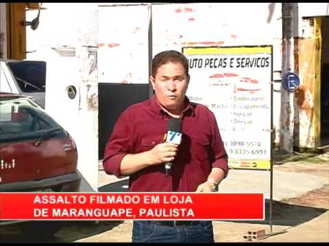 [RONDA GERAL] Casal de assaltantes aterrorizam comerciantes de Paulista
