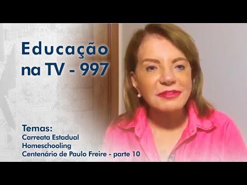 Carreata Estadual   Homeschooling   Centenário de Paulo Freire - parte 10