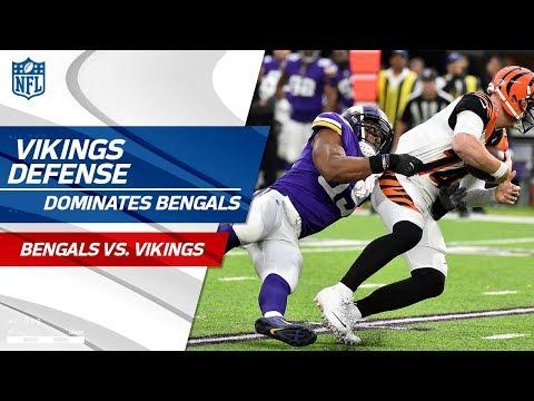 Video: Minnesota's Defense Swarms Cincinnati! | Bengals vs. Vikings | Wk 15 Player Highlights