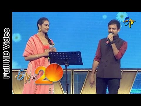 Video Ravivarma and Anjana Sowmya  Performs - Bavagari Choope Song in Eluru ETV @ 20 Celebrations download in MP3, 3GP, MP4, WEBM, AVI, FLV January 2017